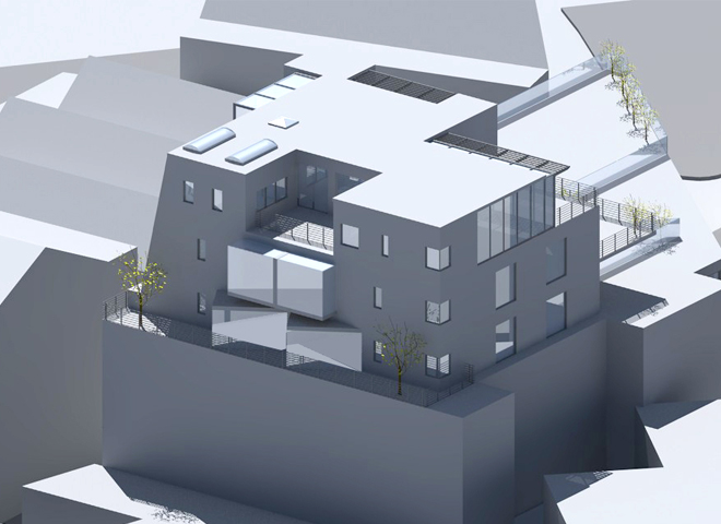 Webber Rushworth elevation view 2